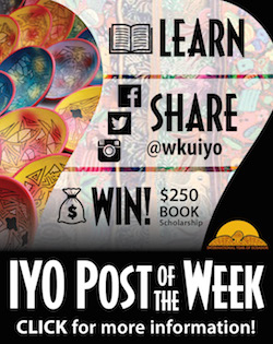Learn. Share @wkuiyo. Win! $250 Book Scholarship. IYO Post of the Week. Click for more information!