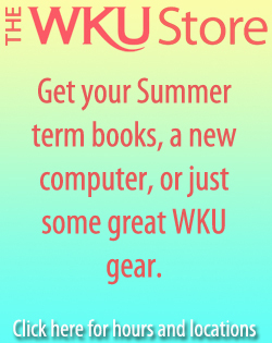 The WKU Store: Get your summer term books, a new computer or just some great WKU gear