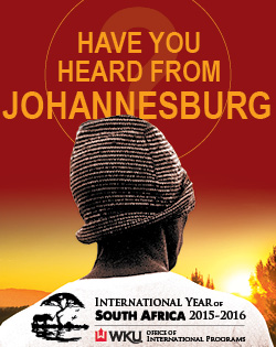 Have you heard from Johannesburg?