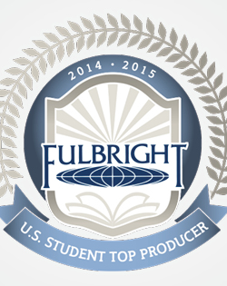 2014-2015. Fulbright US Student Top Producer