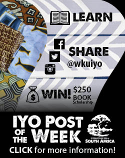 Learn. Share. Win! IYO Post of the Week. Click for more information.
