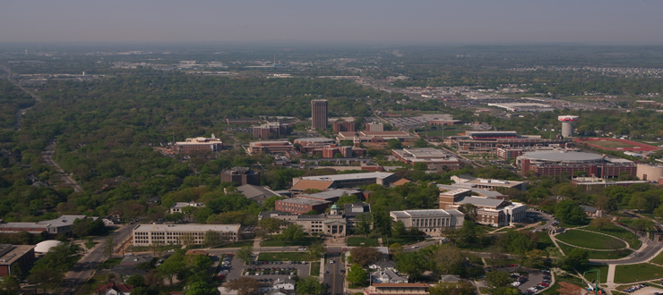 Aerial View of WKU