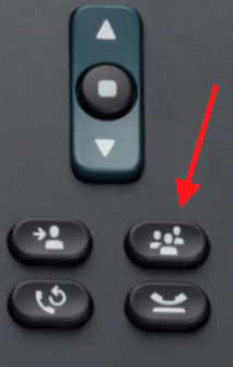 Cisco Conferencing button