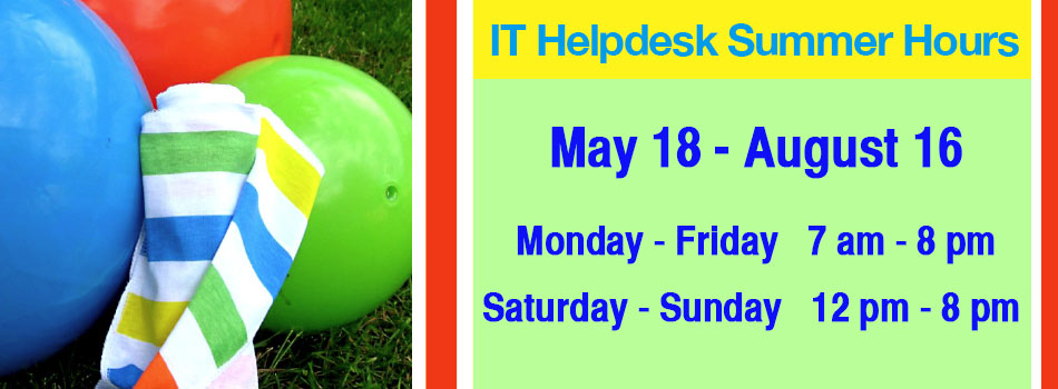 IT Helpdesk Hours