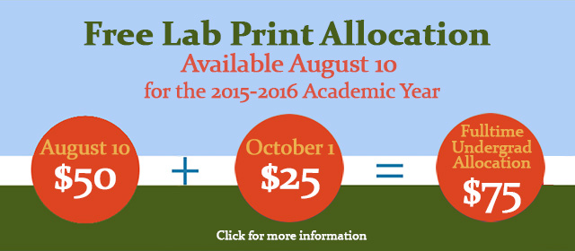 Printing Allocations