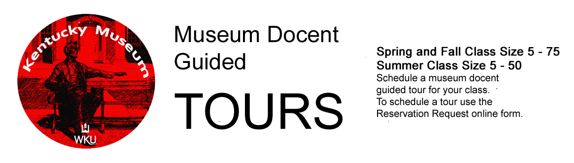 Museum docent guided tours