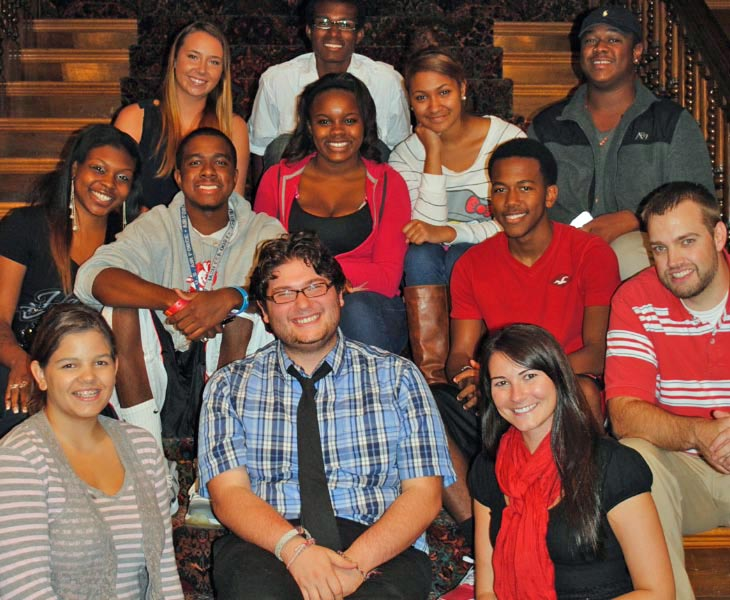 wku students at ky museum