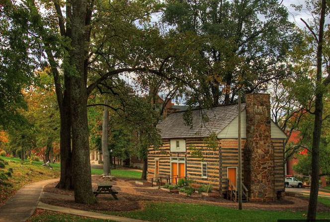 Felts Log House Western Kentucky University