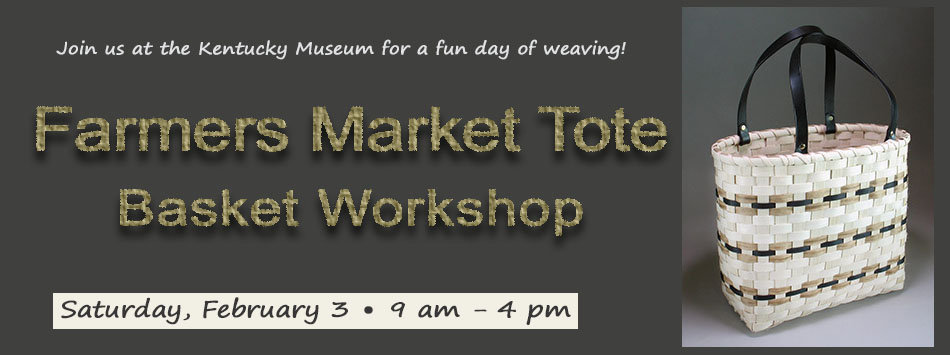 Farmers Market Tote workshop February 3