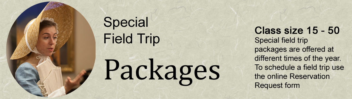 Special field trip packages
