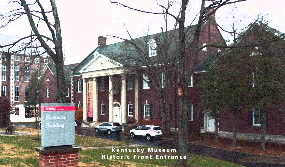 Kentucky Museum Historic Entrance