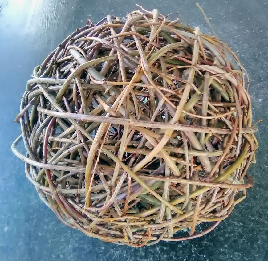 Woven orb