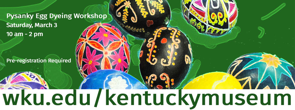 Psyanky egg dyeing workshop, March 3