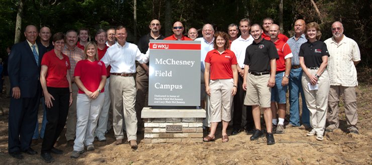 Dedication of the WKU McChesney Field Campus