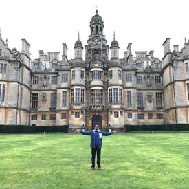 Nikil at Harlaxton