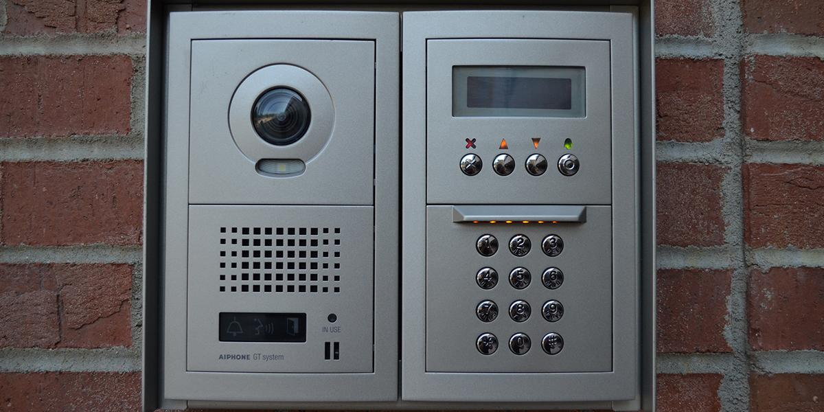 1350 Kentucky Street Apartments outdoor calling system