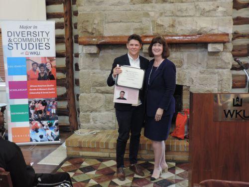Catherine Coogan Ward Feminist Action Award - Grayson Hunt