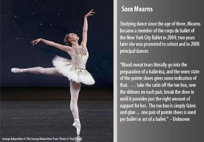 Studying dance since the age of three, Mearns became a member of the corps de ballet of the New York City Ballet in 2004; two years later she was promoted to soloist and in 2008 principal dancer.  