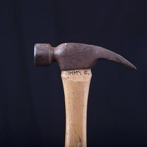 Hammer used by Jimmy Carter for Habitat for Humanity