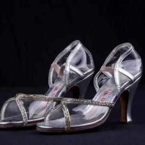 Minnelli wore these jeweled, high heel sandals during her Tony Award winning performance in The Act (1977-78), which Martin Scorsese directed.