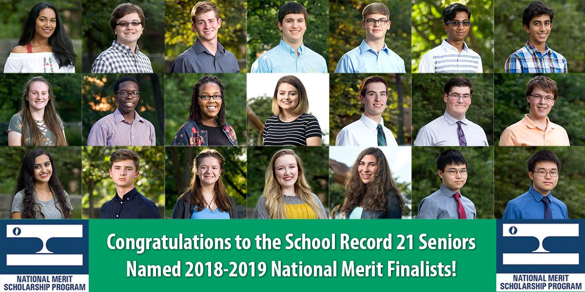 2018-2019 National Merit Finalists