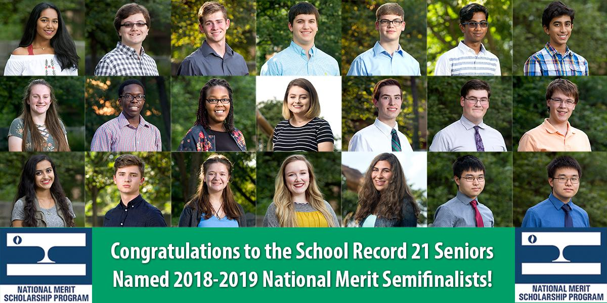 2018-2019 National Merit Semifinalists