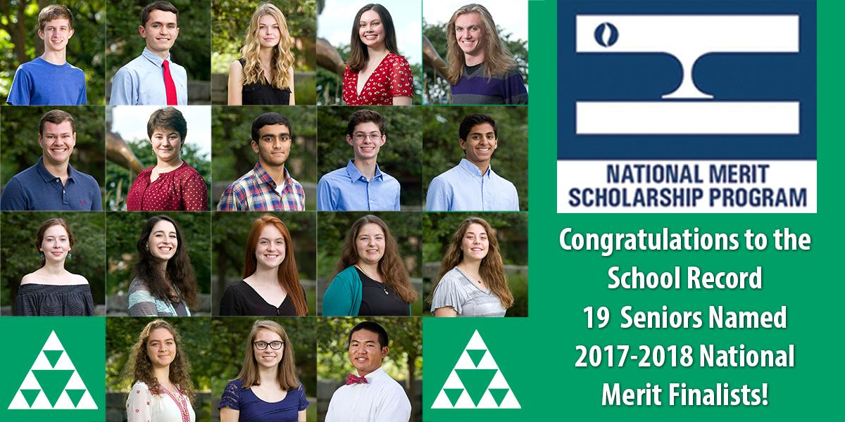 2017-2018 National Merit Finalist