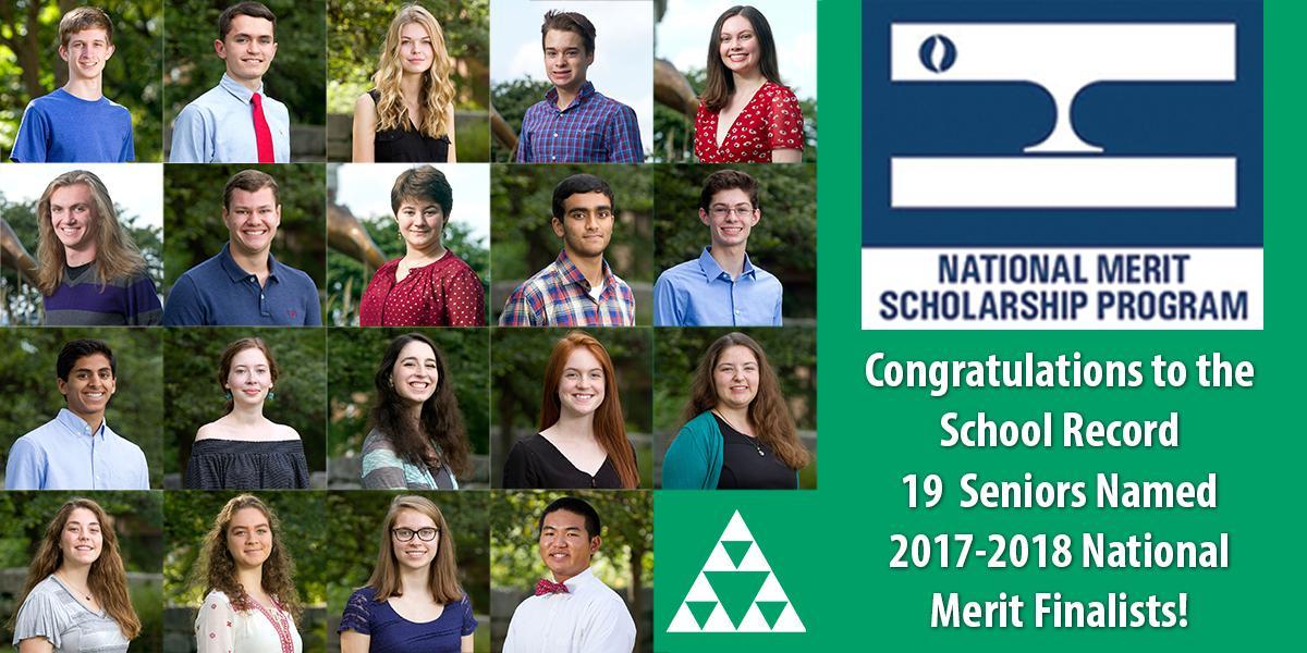 2017-2018 National Merit Finalist