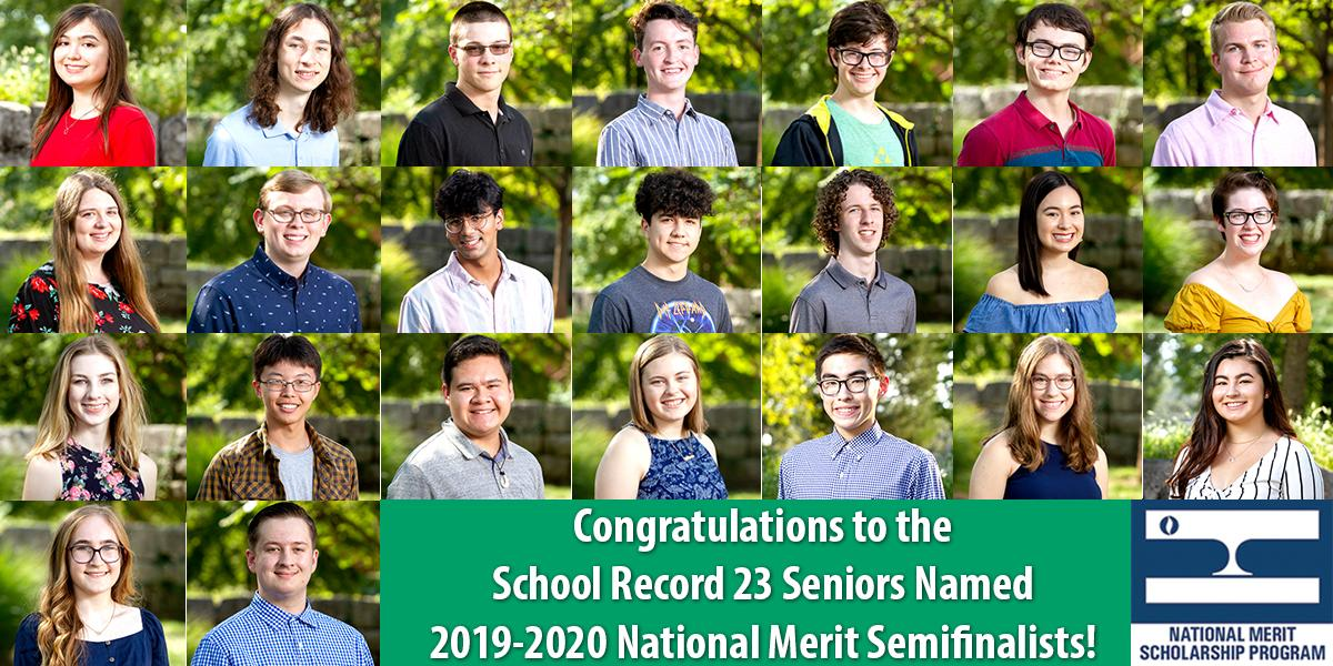 2019-2020 National Merit Semifinalists
