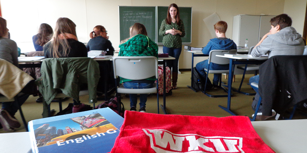 Kelli Ralston gained hands-on experience in the classroom during her International Student Teaching experience in Werne, Germany.
