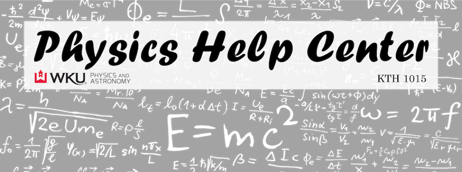 Visit the Physics Help Center in KTH 1015 for help with your introductory physics course.