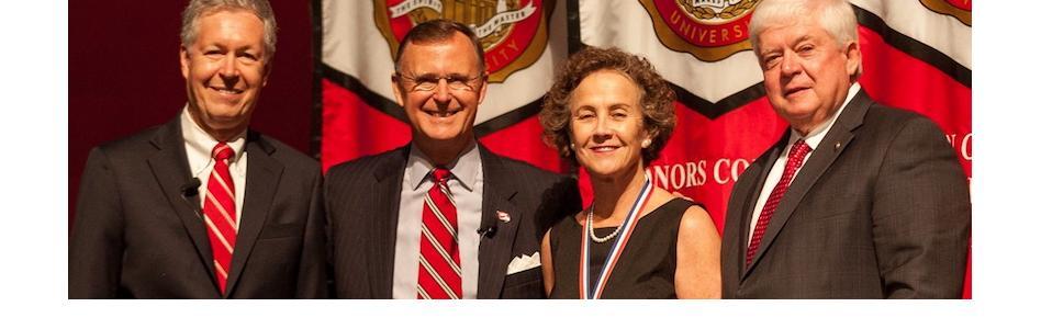 Dr. Shoenfelt awarded University Distinguished Professor