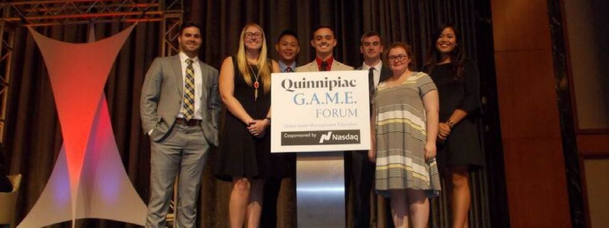 WKU Finance students going form the classroom to the Big Apple to attend the Quinnipiac G.A.M.E. Conference in Big Apple.