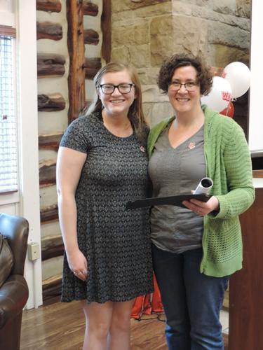 Seneca Falls Personal Empowerment Award Winner Savannah Molyneaux