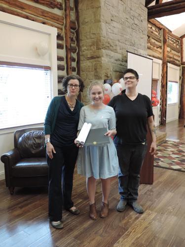 Catherine Coogan Ward and Valere Scott Scholarship Winner Jordan Frodge