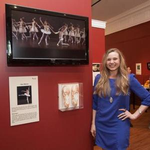 Sara Mearns' Pointe Shoes are also highlighted by a video of her dancing the lead in Swan Lake.