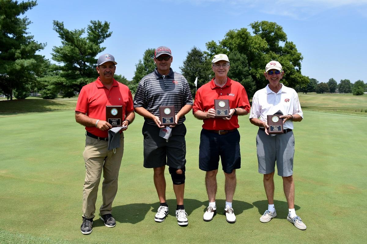 Dale Brown, Eric Wilson, Mike Dale, Doug Jenkins