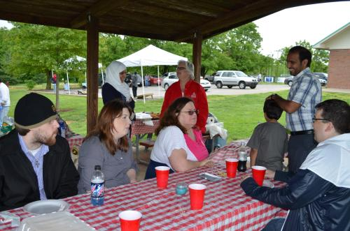 Students Gather for the 1st Annual MPA Cookout