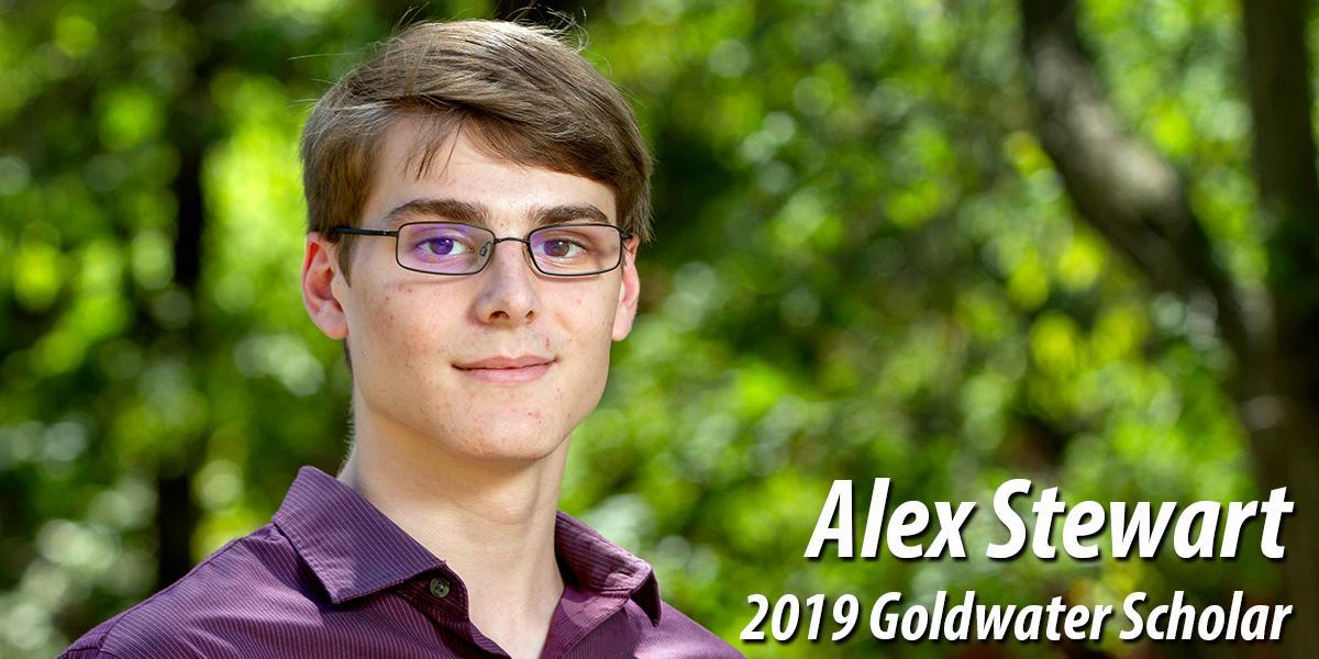 Alex Stewart - 2019 Goldwater Scholar