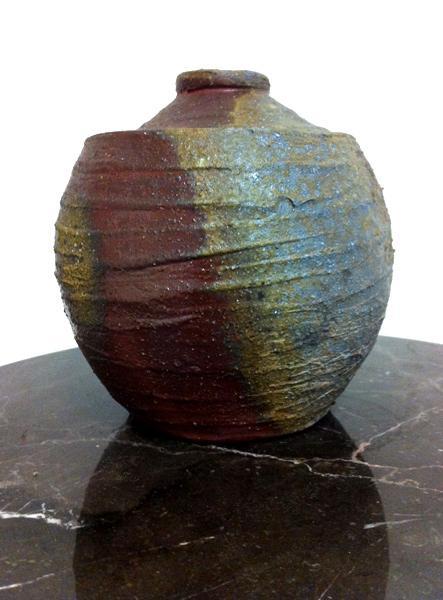 Ashley Hurt, Wood Fired Jar, Ceramics