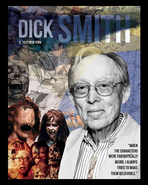 Sequoia Sims, Exploring Special Effects - Dick Smith, graphic design