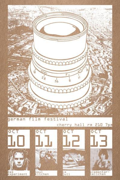 Matt Love, German Film Fest, graphic design
