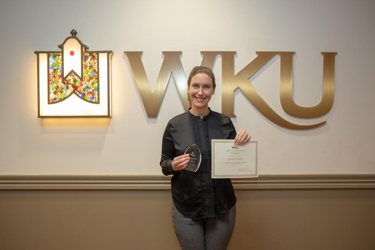 First Time Lead Awardee & Early Investigator Jenni Teeters