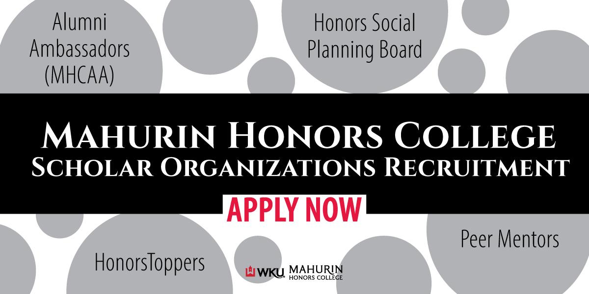 MHC Scholar Organizations Application