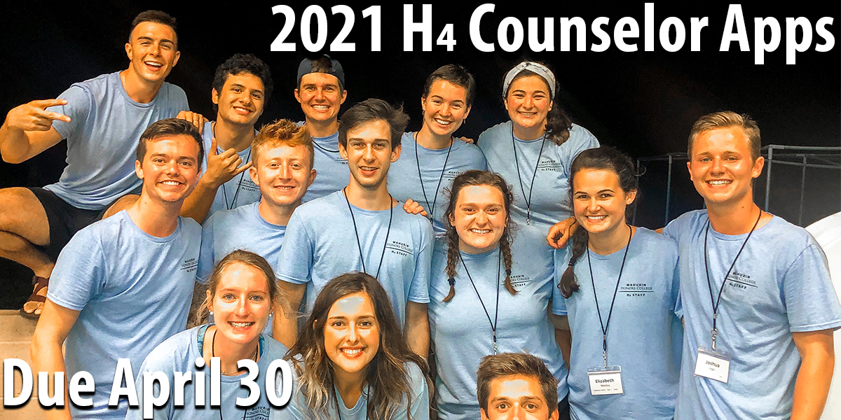 H4 Counselor Applications