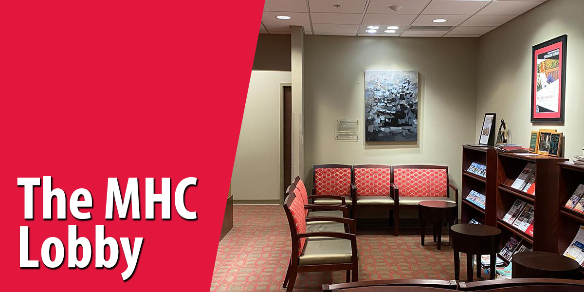 The Mahurin Honors College Lobby