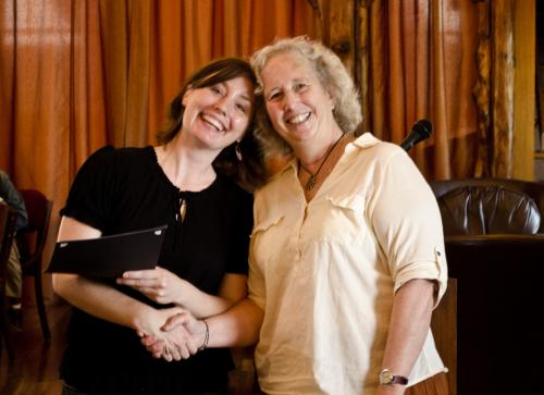 Leslie Nichols & Jane Olmsted