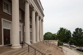 Van Meter Auditorium Steps