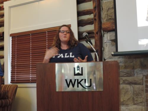 GWS Graduating Student Londa Stockton