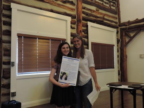 Valere Scott Scholarship Recipient Erin Miller